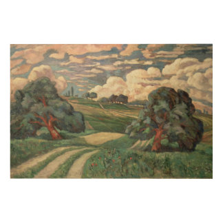 Fauve Landscape Wood Wall Art