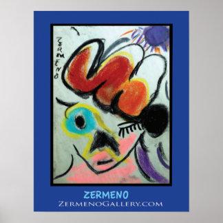 """""""Fauvette' by Zermeno Poster"""