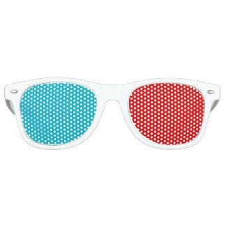 faux 3D Wayfarer Sunglasses
