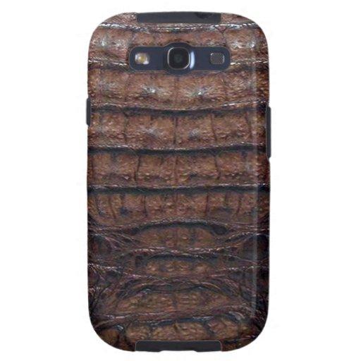 Faux Alligator Skin Samsung Galaxy S Case #1 Galaxy S3 Cover