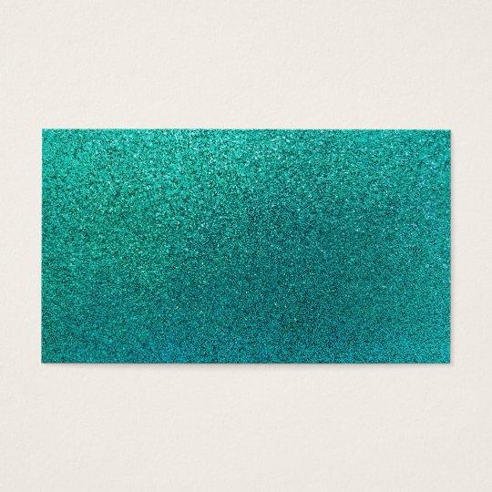 Faux Aqua Teal Turquoise Blue Glitter Background S