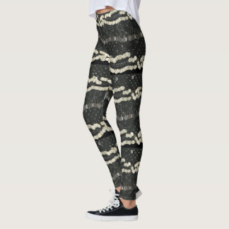 Faux Assuit and Coin Belly Dance Leggings