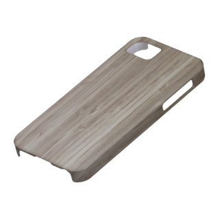 """""""faux bamboo"""" CASE iPhone 5 Covers"""