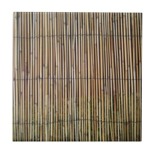 faux bamboo small square tile