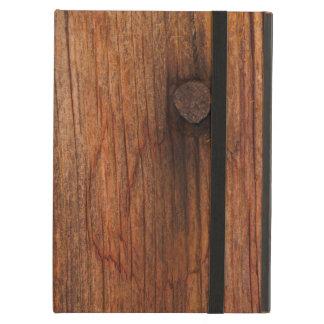 Faux Barn Wood Powis iCase iPad Case