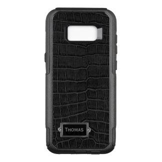 Faux Black Alligator Otterbox Samsung S8 Case