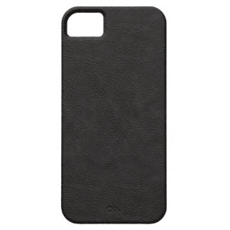 Faux Black Leather iPhone 5 Case