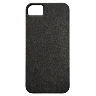 Faux Black Leather iPhone 5s Case iPhone 5 Case