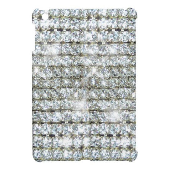 Faux Bling Diamond Print Cover For The iPad