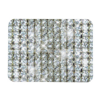 Faux Bling Rectangle Magnets