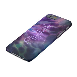 Faux Blown Glass Custom Name Barely There iPhone 6 Case