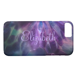 Faux Blown Glass Custom Name iPhone 7 Case