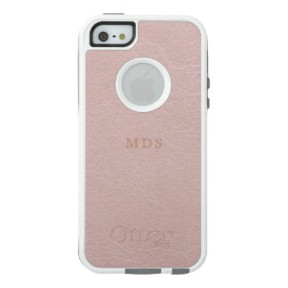 Faux Blush Pink OtterBox iPhone 5 SE Case