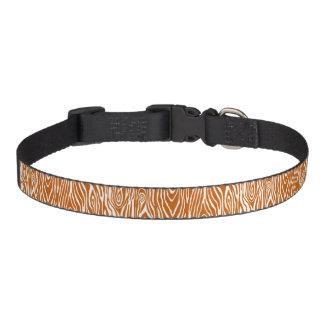 Faux Bois Dog Collars