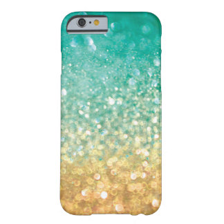 Faux Bokeh Glitter Barely There iPhone 6 Case
