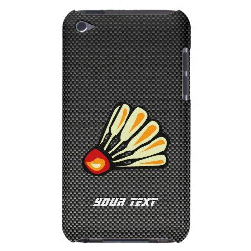 Faux Carbon Fiber Badminton iPod Touch Cover