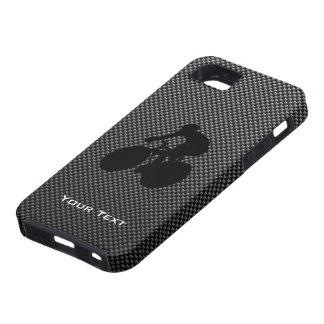 Faux Carbon Fiber Cycling Tough iPhone 5 Case