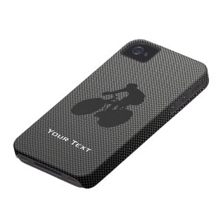 Faux Carbon Fiber Cycling Case-Mate iPhone 4 Case