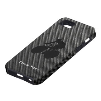 Faux Carbon Fiber Cycling Tough iPhone 5 Case