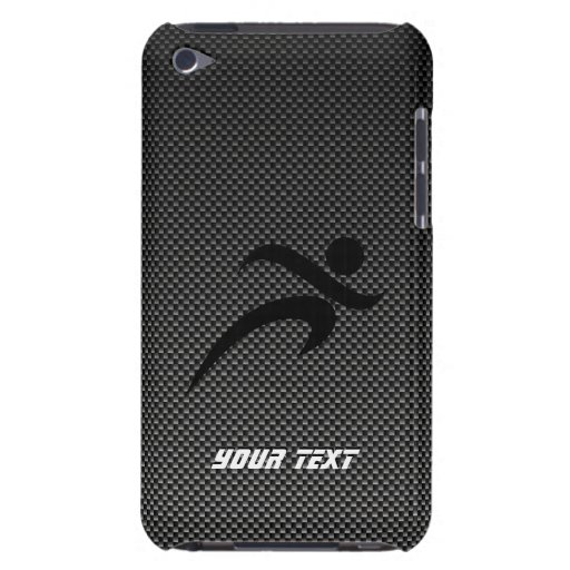 Faux Carbon Fiber; Running Barely There iPod Cases