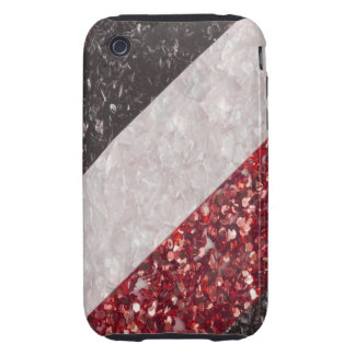 Faux cracked Glass Look I Phone 3 Case Tough iPhone 3 Covers