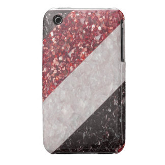 Faux cracked Glass Look I Phone 4 Case iPhone 3 Case