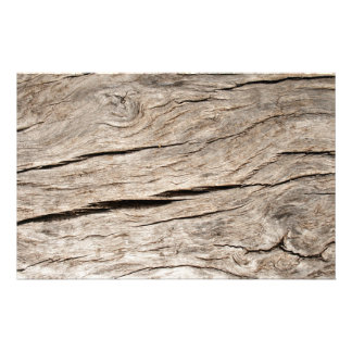 Faux Cracked Tree Bark Stationery
