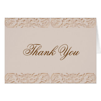 Faux Cut Out Border Note Card