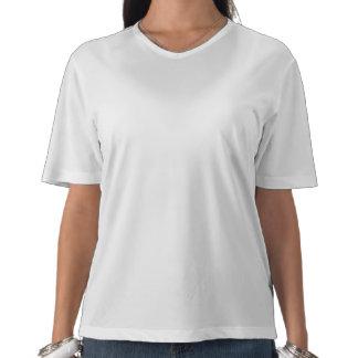 Faux Denim Soutache Ladies Microfiber T-shirt