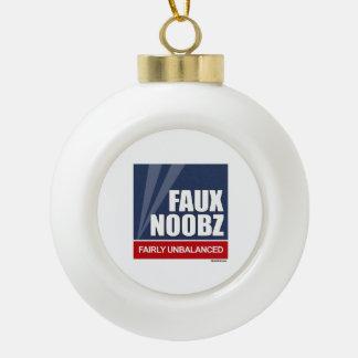 FAUX - Fairly Unbalanced Ceramic Ball Decoration