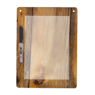 Faux Finished Barn Wood Dry Erase Board