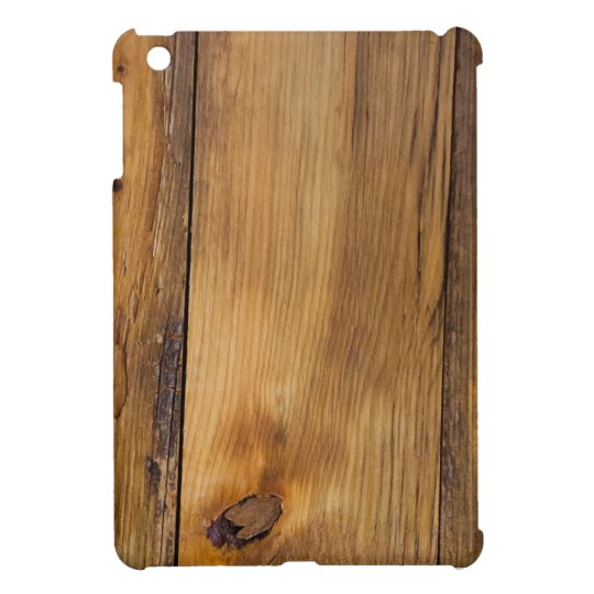 Faux Finished Barn Wood iPad Mini Case