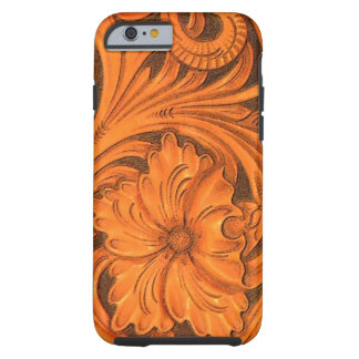 Faux Floral Tooled Leather iPhone 6 Tough iPhone 6 Case