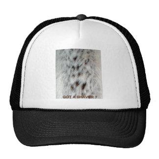 FAUX FUR CHEST HAIR MESH HAT
