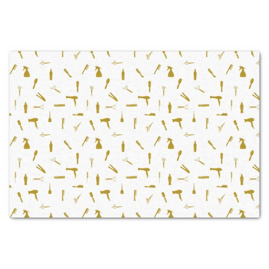 Faux Glitter Hair Stylist Tools Tissue Paper