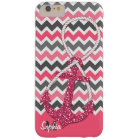 faux glitter nautical anchor infinity symbol barely there iPhone 6 plus case