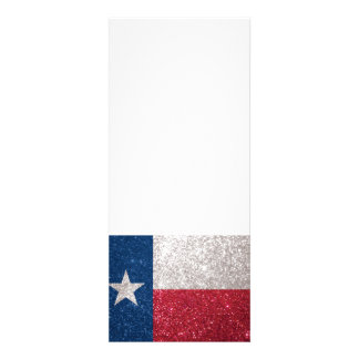 Faux Glitter Texas flag Personalized Invites