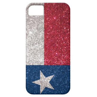 Faux Glitter Texas flag iPhone 5 Case