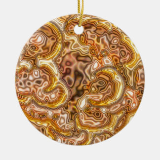 FAUX GOLD CHRISTMAS ORNAMENT
