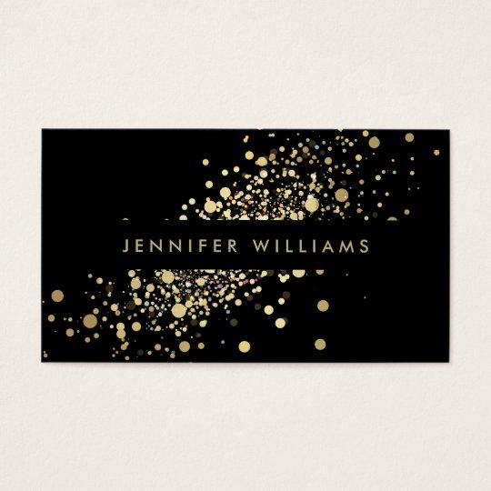 Faux Gold Confetti Dots Event Planner, Stylist Business