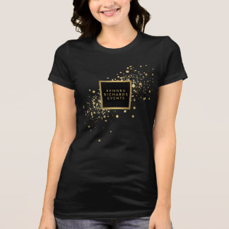 Faux Gold Confetti T-Shirt