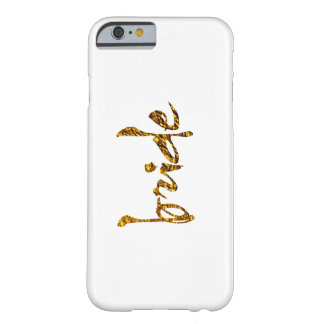 Faux Gold Foil Bride Barely There iPhone 6 Case