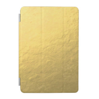 Faux Gold Foil Effect Printed iPad Mini Cover