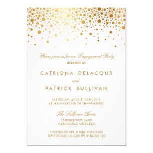 elegant engagement party invitations zazzle uk