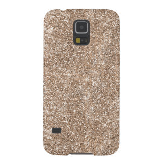 Faux Gold Foil Glitter Background Sparkle Template Cases For Galaxy S5