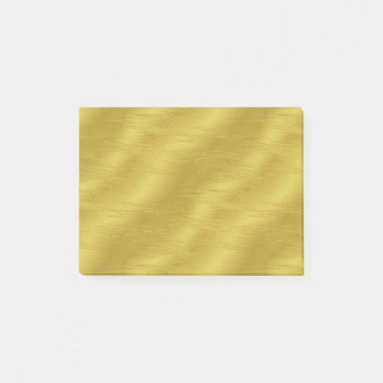 Faux Gold Foil Texture Background Sparkle Template Post-it
