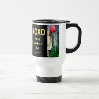 Faux Gold Foil XOXO | Valentine's Day Photo Mug