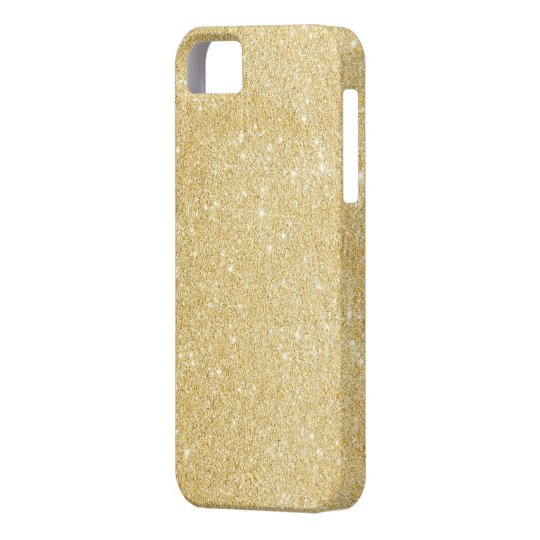 Faux Gold Glitter iPhone 5/5s Case