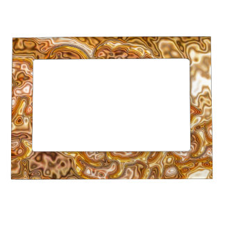 FAUX GOLD MAGNETIC PICTURE FRAME