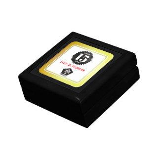 FAUX GOLD universal employee anniversary gift box
